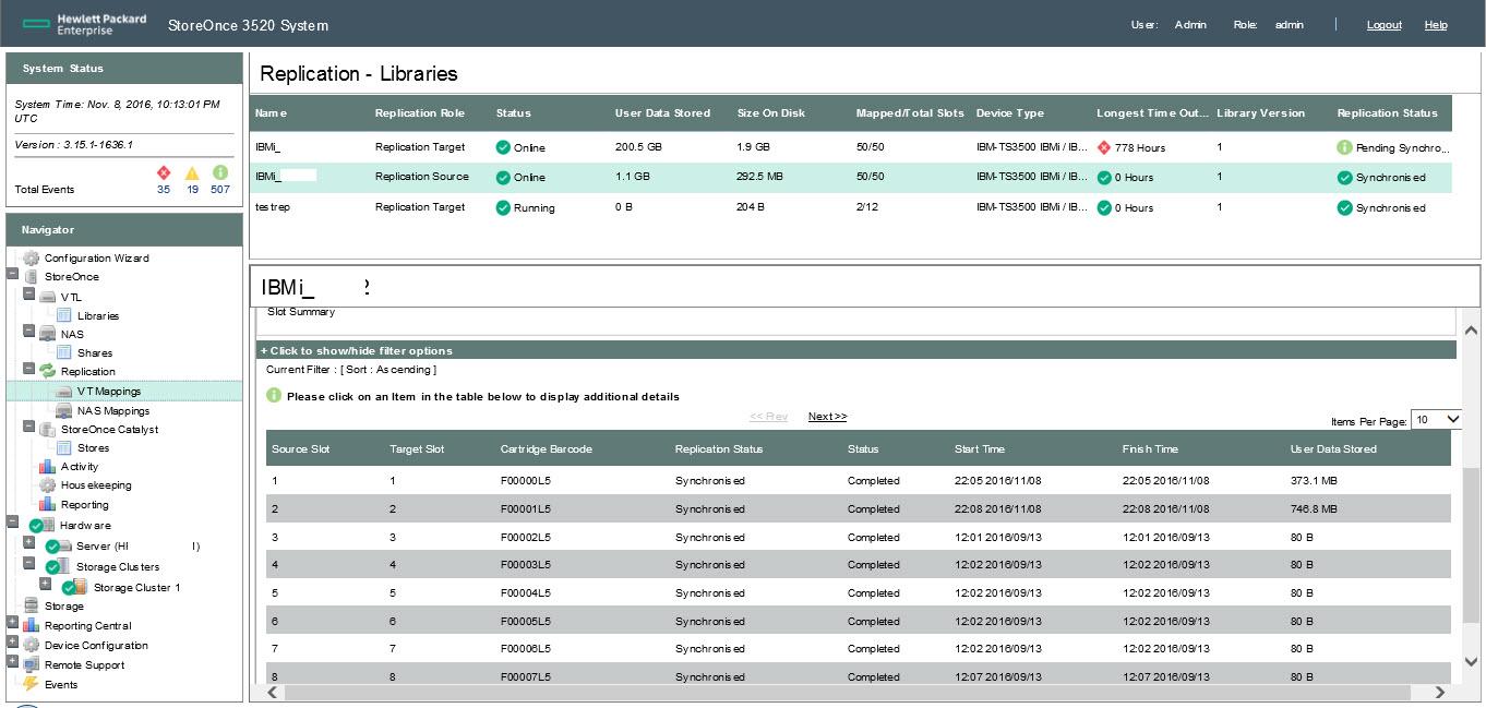 HP StoreOnce VTL and IBMi | IBMi org - Bart's blog